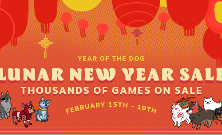 The Steam Lunar New Year Sale has begun
