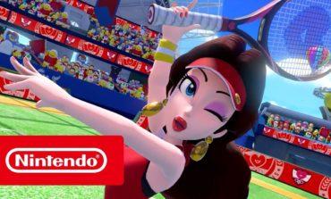 Mario Tennis Aces Tournament Set to be Broadcast Sunday