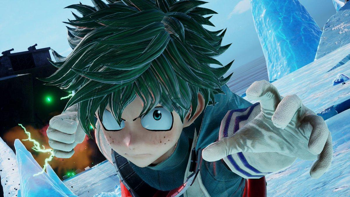 Izuku Deku Midoriya From My Hero Academia Joins The Roster Of Jump Force New Trailer Showcases The Story Avatar Creator Mxdwn Games