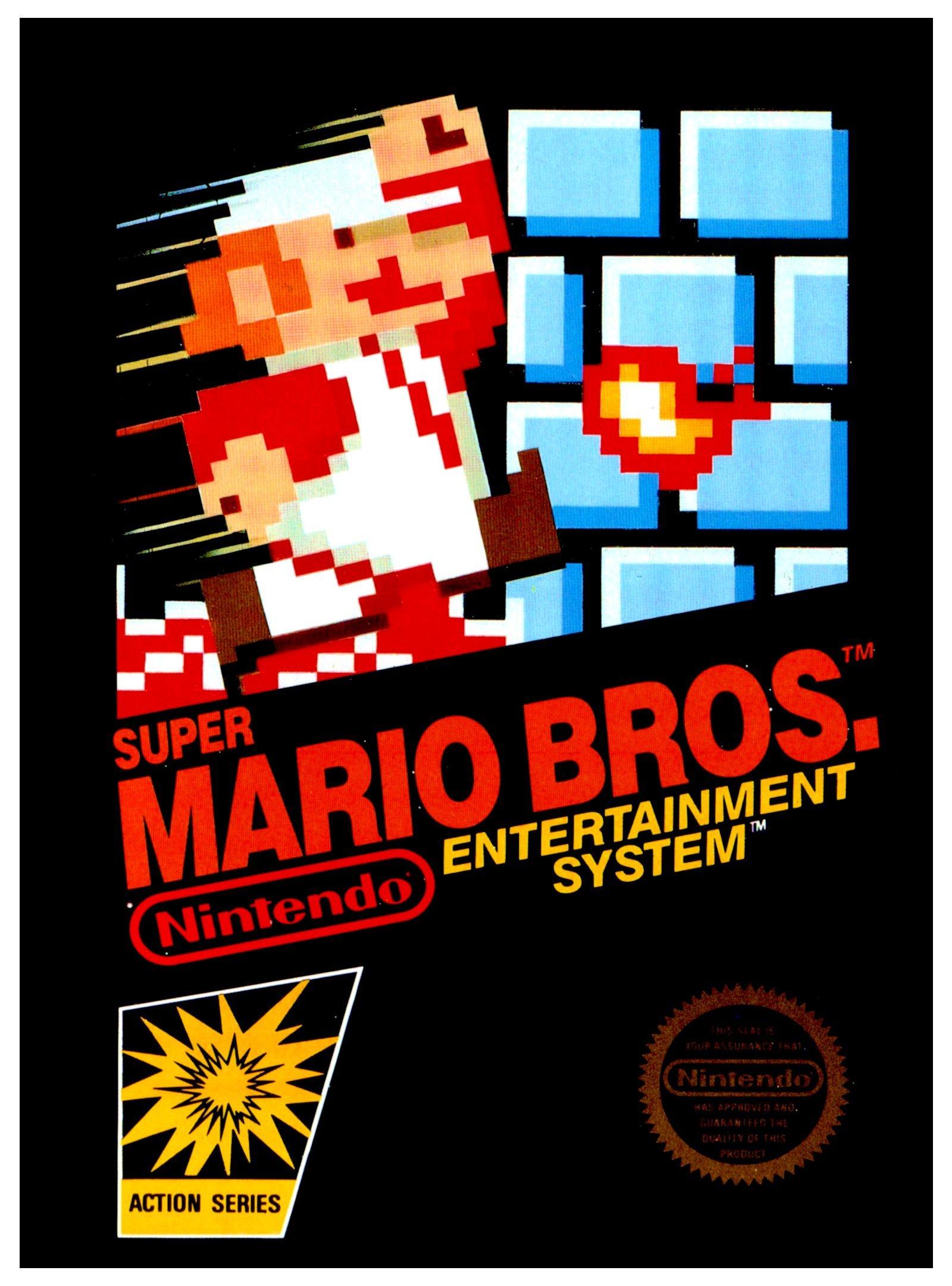 Original Super Mario Bros Game Nets Record Breaking 100k In Sale
