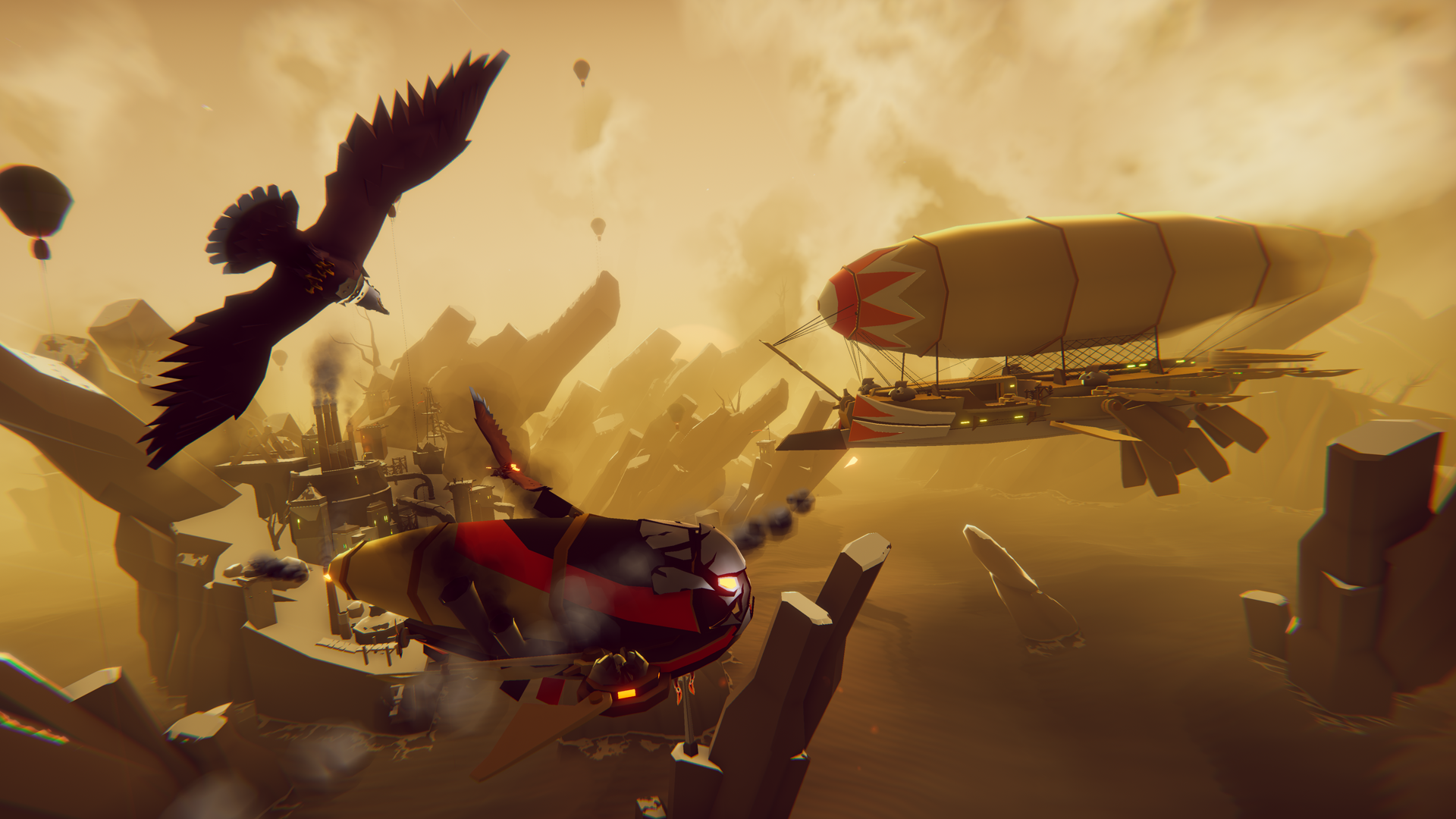Fantasy Air-Combat Game The Falconeer Receiving Closed Beta - mxdwn Games